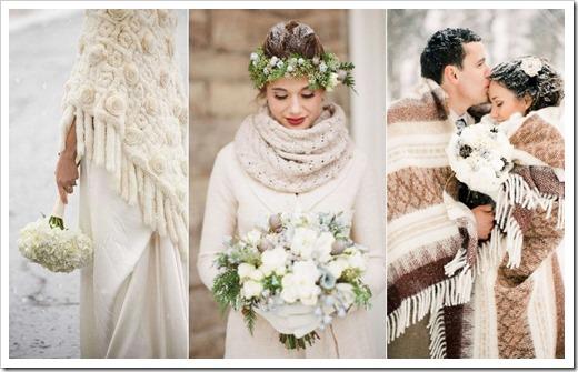зимняя свадьба. свадебные наряды