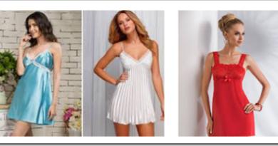 Выбор ночной женской сорочки