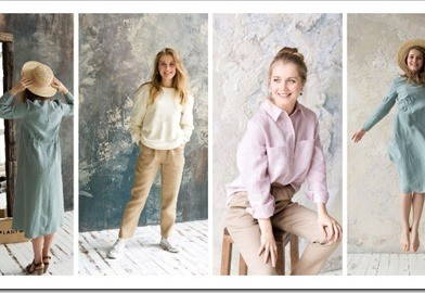 Женская одежда из натуральных тканей оптовыми партиями