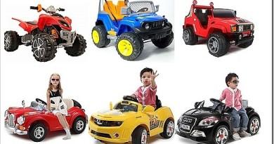 Как выбрать детский электромобиль и какие есть виды