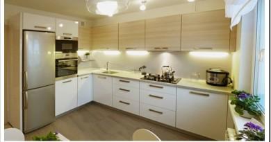 Виды угловых кухонь и советы по выбору