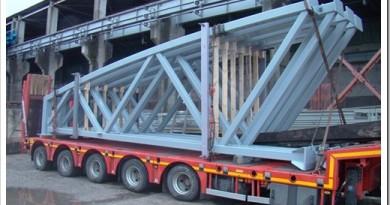 Особенности грузоперевозок металлоконструкций автомобильным транспортом