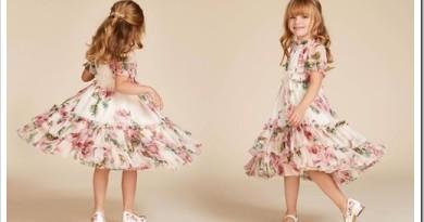 Платье для девочек до 5 лет