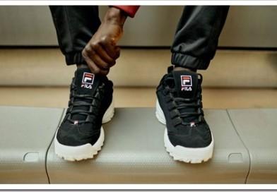 Современные кроссовки Fila