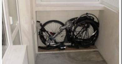 Где можно хранить велосипед зимой